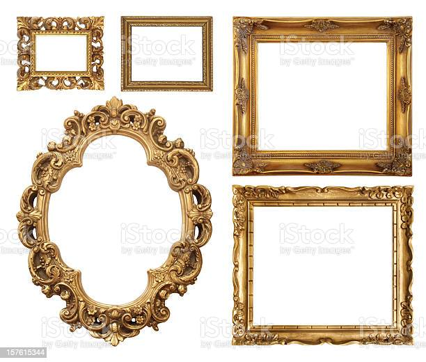 Set of five gold frame designs picture id157615344?b=1&k=6&m=157615344&s=612x612&h=ppfz pk7u9mseir2cmlqgfpkgfmpgumh3n4xri8meug=