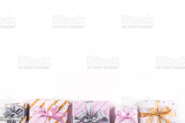 Set of gift boxes with bows and confetti on a white background picture id1205359835?b=1&k=6&m=1205359835&s=612x612&h=otgbqq unzlwdgtezvce2hqvap4ehkyscqjostc0fau=