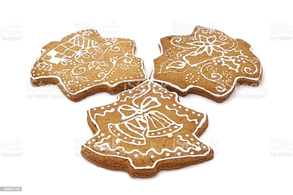 Set of gingerbread biscuits royalty-free stock photo