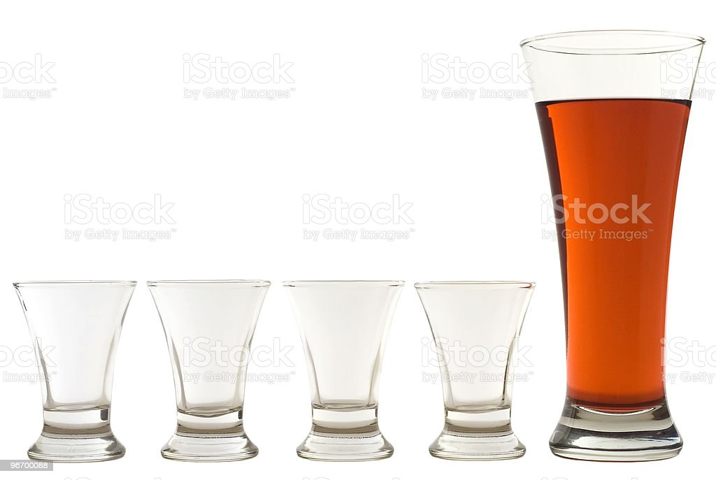 set of glasses 02 royalty-free stock photo