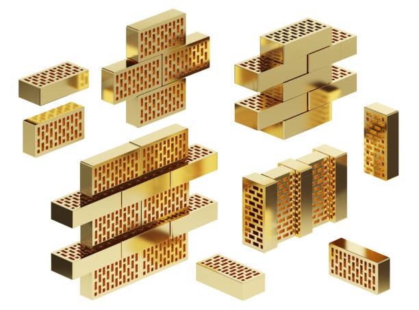 Set of golden bricks isolated on a white background clipping path picture id1223258523?b=1&k=6&m=1223258523&s=612x612&w=0&h=ykyy4siw5xgdf7rllzku guqdgp9oborrrfwjvgbjfq=