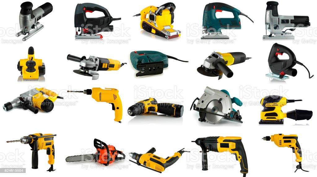 conjunto de imágenes de herramientas - foto de stock