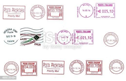 istock set of  italian postmarks 469235494