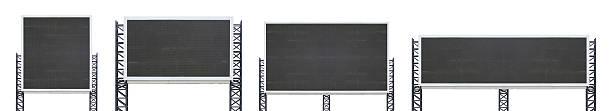 set of large sign board – Foto