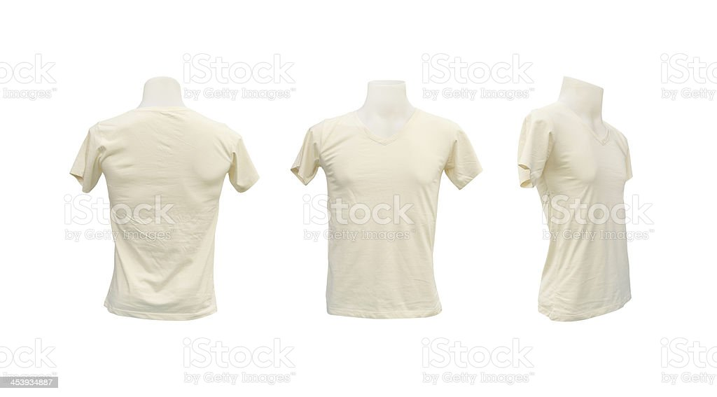 set of male tshirt template on the mannequin stock photo istock