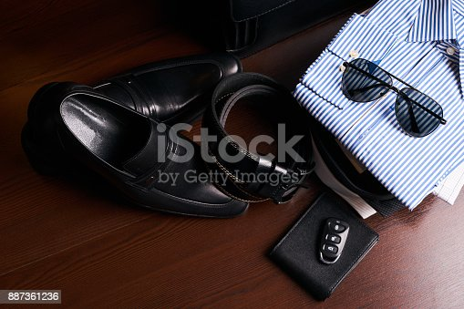 625840656 istock photo Set of men's business clothing 887361236