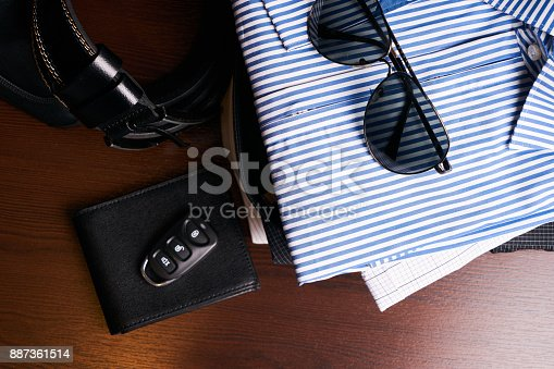 625840656 istock photo Set of men's business clothing 887361514