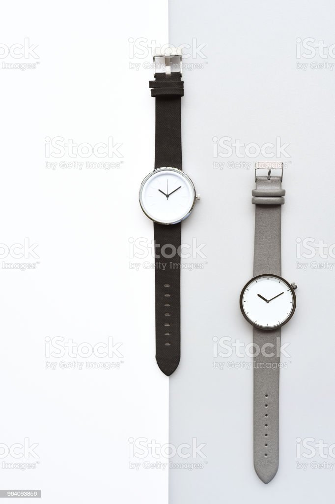 Set of multicolored wristwatches for background - Royalty-free Beauty Stock Photo