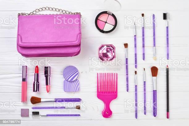 전문 화장품 및 패션 액세서리 세트입니다 가방에 대한 스톡 사진 및 기타 이미지