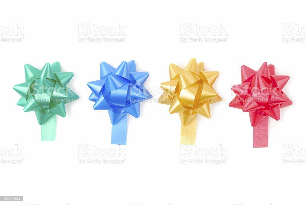 Set Of Ribbons royalty-free stock photo