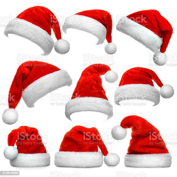 Set of santa claus red hats isolated on white background picture id519848993?b=1&k=6&m=519848993&s=612x612&h= bh gs4e5mqssdik0db4ulcqimgyubgsio0phrc1ypi=