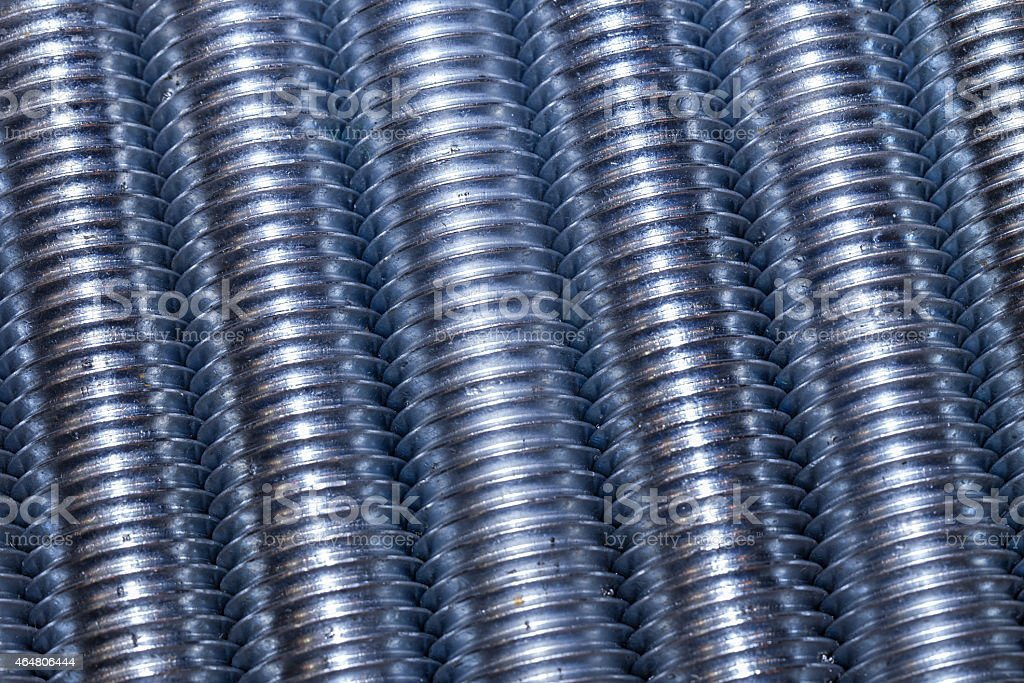 Set of screws as industrial background stock photo