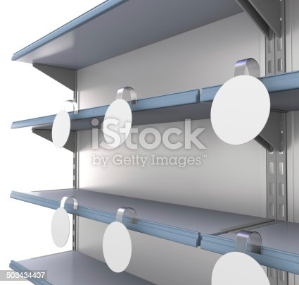 istock set of shelves with wobblers 503434407