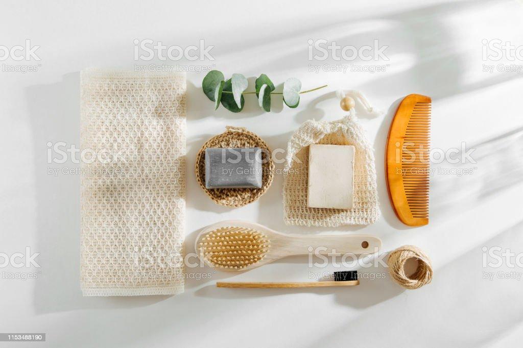 Set of Soap Eco Bag, bamboo toothbrush, natural brush Eco cosmetics...