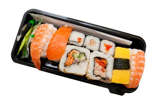 istock Set of sushi 146900399