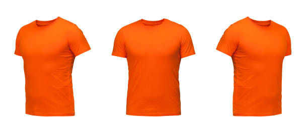 grossiste 29f98 d8476 Best Orange T Shirt Stock Photos, Pictures & Royalty-Free ...