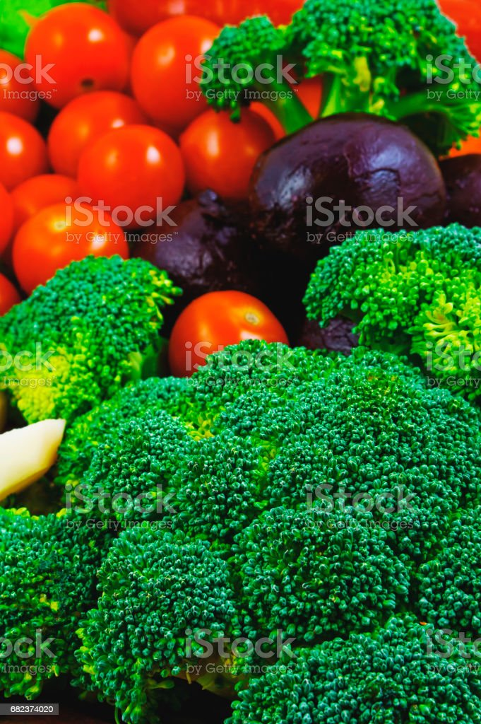 Set van groenten royalty free stockfoto