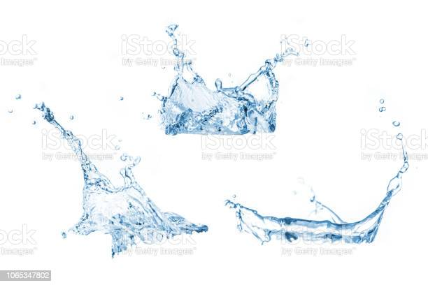 Photo of Set of water splashes collection