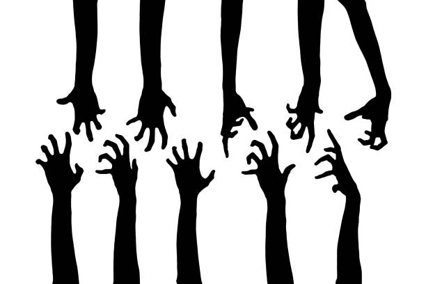 Set of zombie hand silhouettes isolated on white background picture id838295068?b=1&k=6&m=838295068&s=612x612&w=0&h=a00srfyoeiyftji4islq3dqbswxrcv1uwxjktkwmjmi=