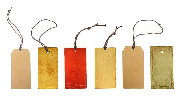 紙のタグの価格設定 ストックフォト