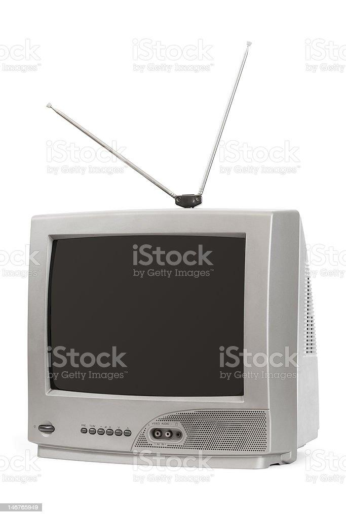 TV set royalty-free stock photo