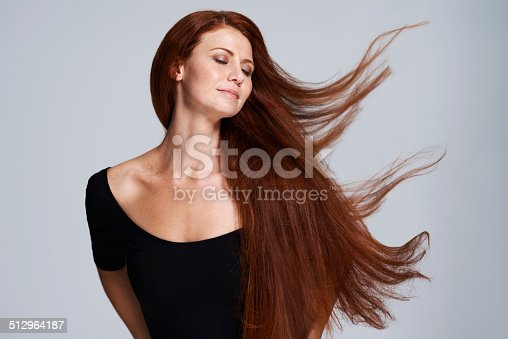 istock Set your hair free 512964187