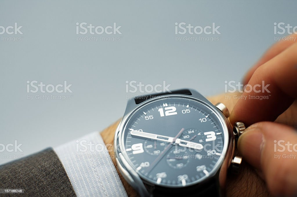 Set your time stock photo