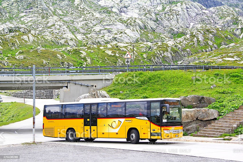 Setra S415H stock photo