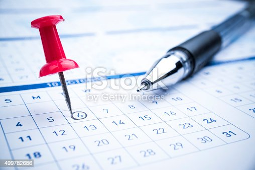 istock Setting a date 499782686