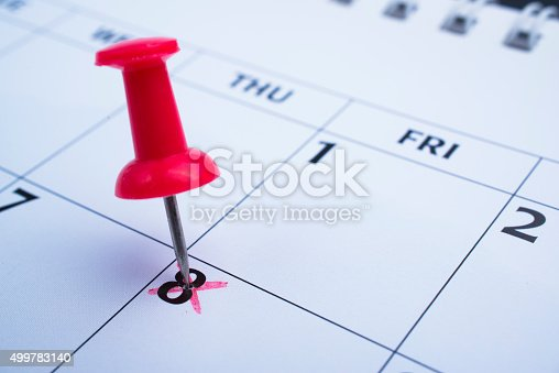 istock Setting a date 499783140