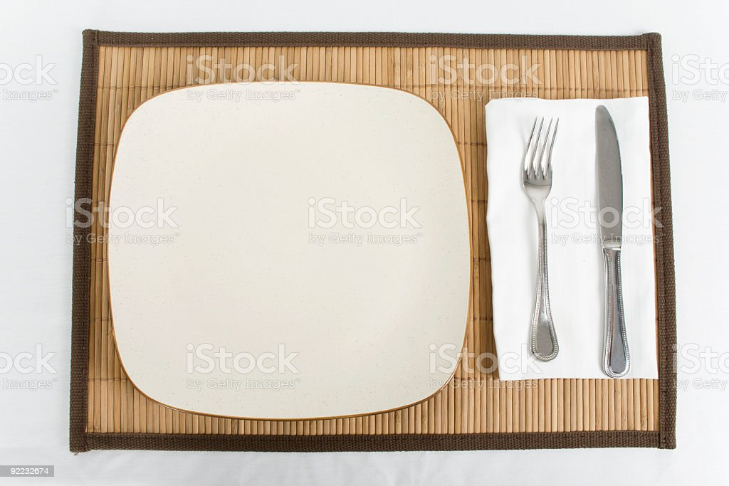 Setting ready for your Food royalty-free stock photo