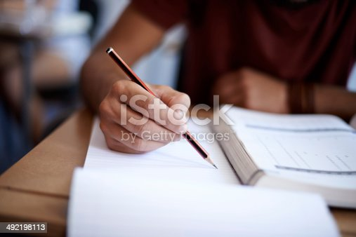 istock Setting the page on fire with some hard work 492198113