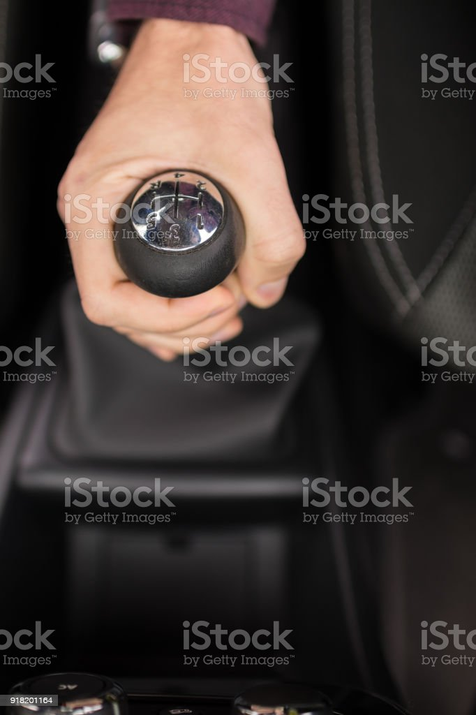 Setting the speed acquired stock photo