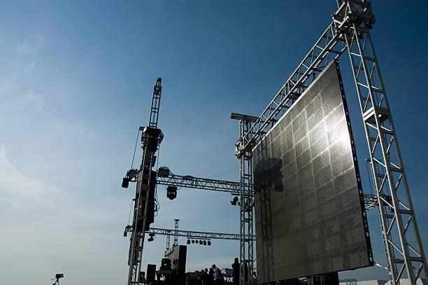 Juego de escenario - foto de stock