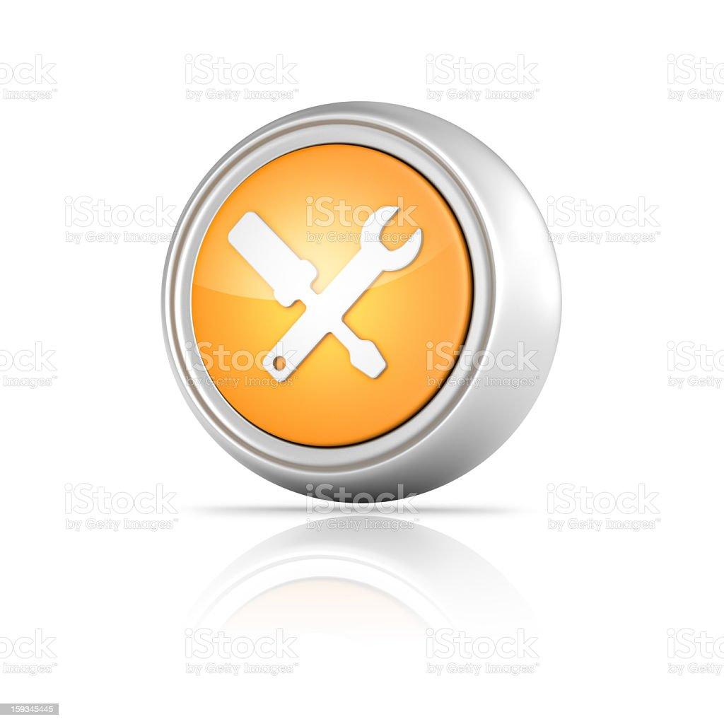 Settings Icon royalty-free stock photo