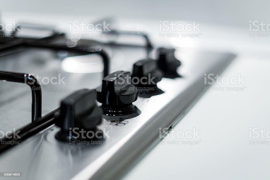 Set-top stove stock photo