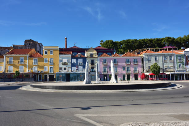 setubal city, portugal - setubal imagens e fotografias de stock