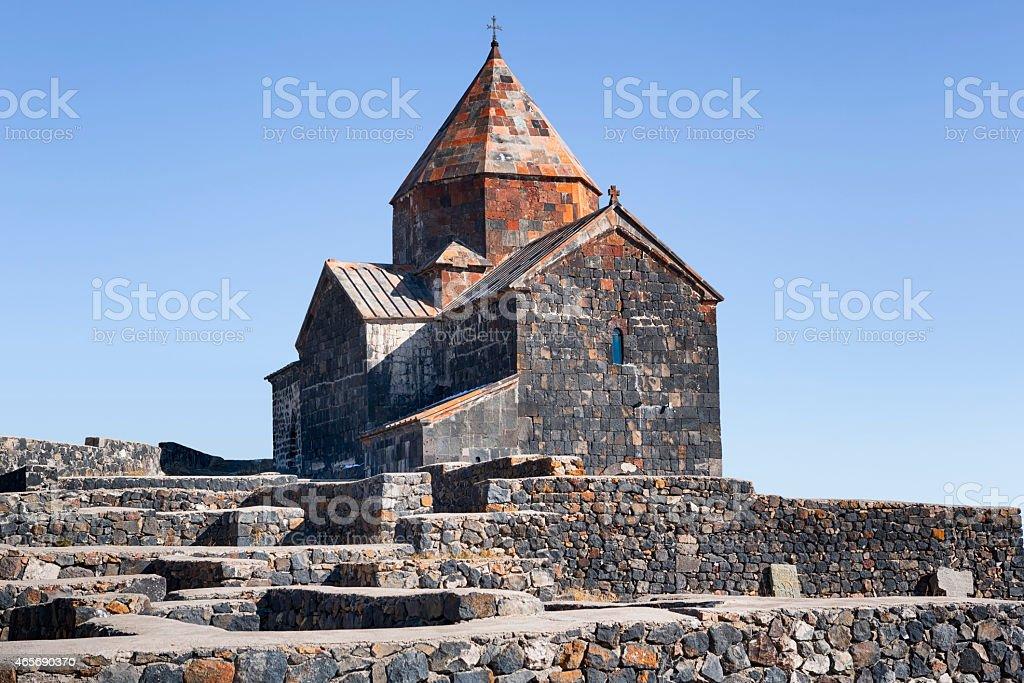 Sevanavank Monastery, Armenia stock photo