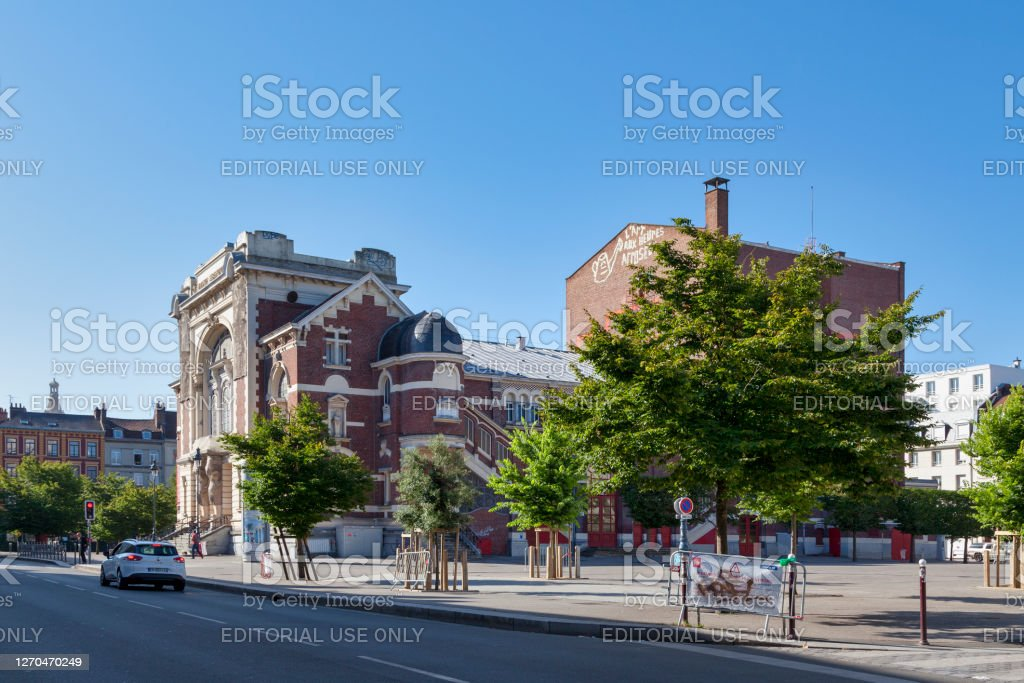 "Sevastopol theatre in Lille Lille, France - June 23 2020: The Sébastopol theater is a 1350-seat theater and auditorium inaugurated in 1903 on the Sébastopol square in Lille.""n Architecture Stock Photo"