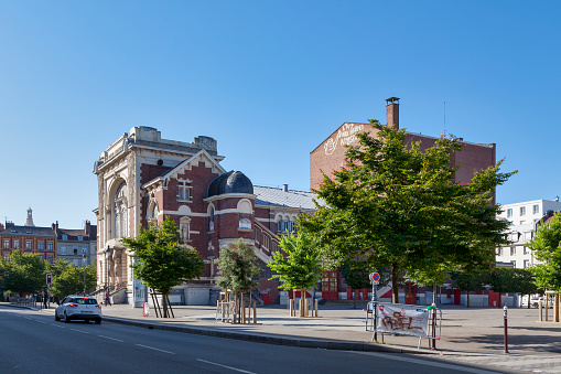 Sevastopol Theatre In Lille Stock Photo - Download Image Now