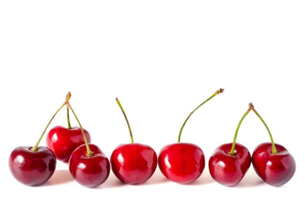 sieben kirschen - essensrezepte stock-fotos und bilder