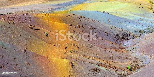 istock Seven colored land 657857372