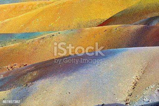 istock Seven colored land 657857382