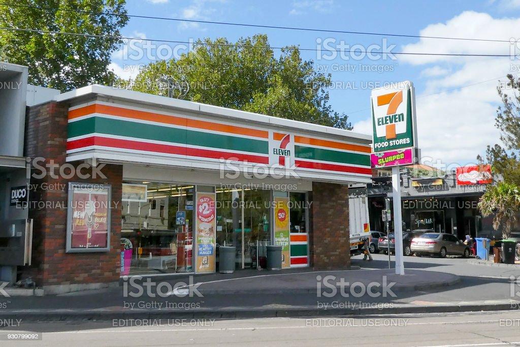 Seven Eleven Convenience Store stock photo