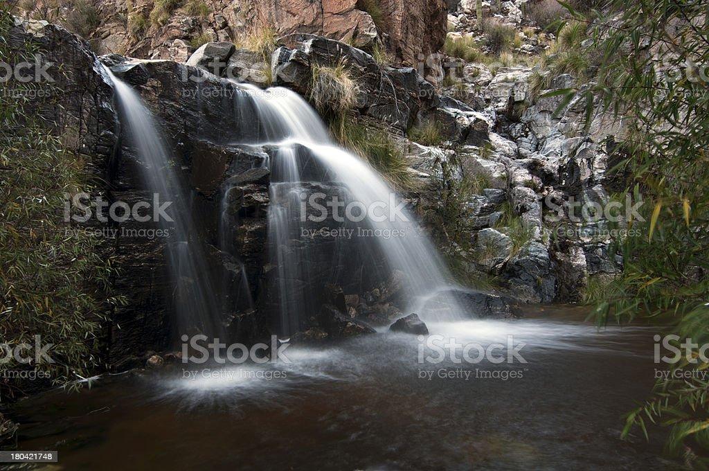 Seven Falls royalty-free stock photo