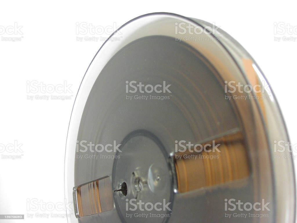Seven Inch Tape royalty-free stock photo