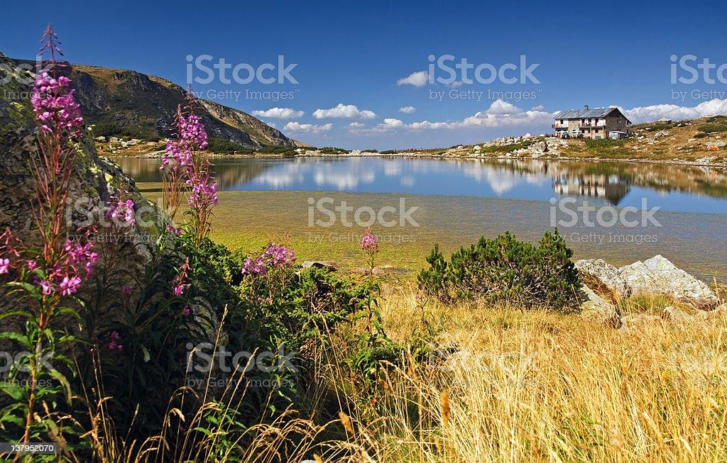 Seven Lakes, Rila Mountains, Bulgaria stock photo