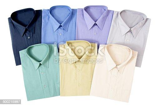 istock Seven Men's Shirts 500215997