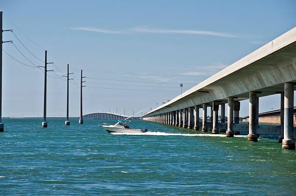 Seven Mile Bridge stock photo
