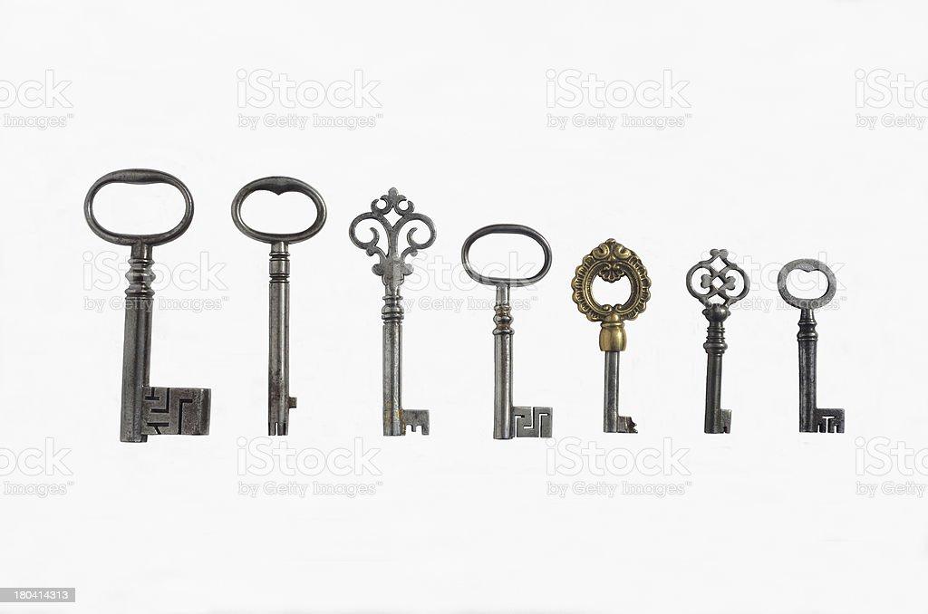 Sieben Pipe Schlüssel – Foto